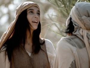 Mary spoke a praise to God