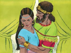 David was immediately drawn to Bathsheba