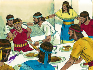 Absalom killed Amnon for raping his sister