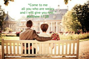 Where do you go when you are weary?
