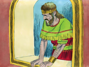 Jesus descended from the line of King David
