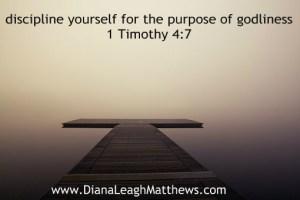 Where do you struggle with discipline?