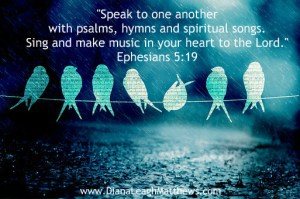 Do you speak to one another through music?