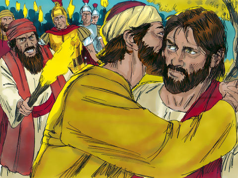 Eyewitness to the Crucifixion: Judas, Betrays with a Kiss