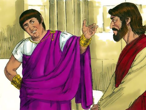 Eyewitness to Easter: Pilate, Questioned Jesus