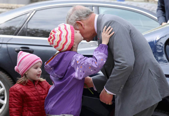 Prince Charles, Prince William, Euro Tour, Trip, Dad dance Photo (C) GETTY IMAGES