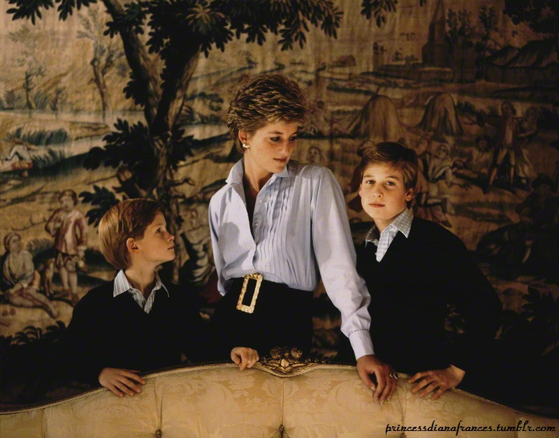 William, Kate and Harry to mark Princess Diana's birthday