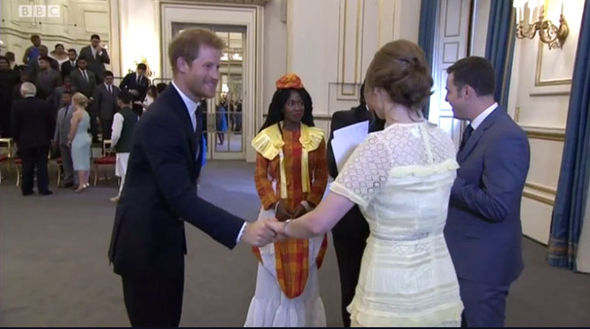 The Prince looked delighted to be a part of The One Show and the events at Buckingham Palace Photo (C) BBC