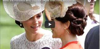 Video Meet the Princess who dresses better than Catherine Duchess of Cambridge
