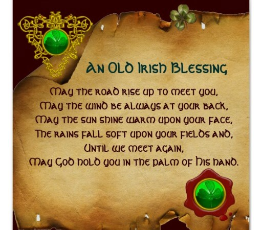 An Irish Blessing | Prayers and Promises