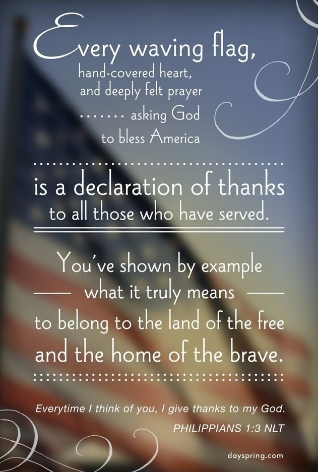 Veterans Day Quotes To Honor Our Soldiers Prayers And Promises