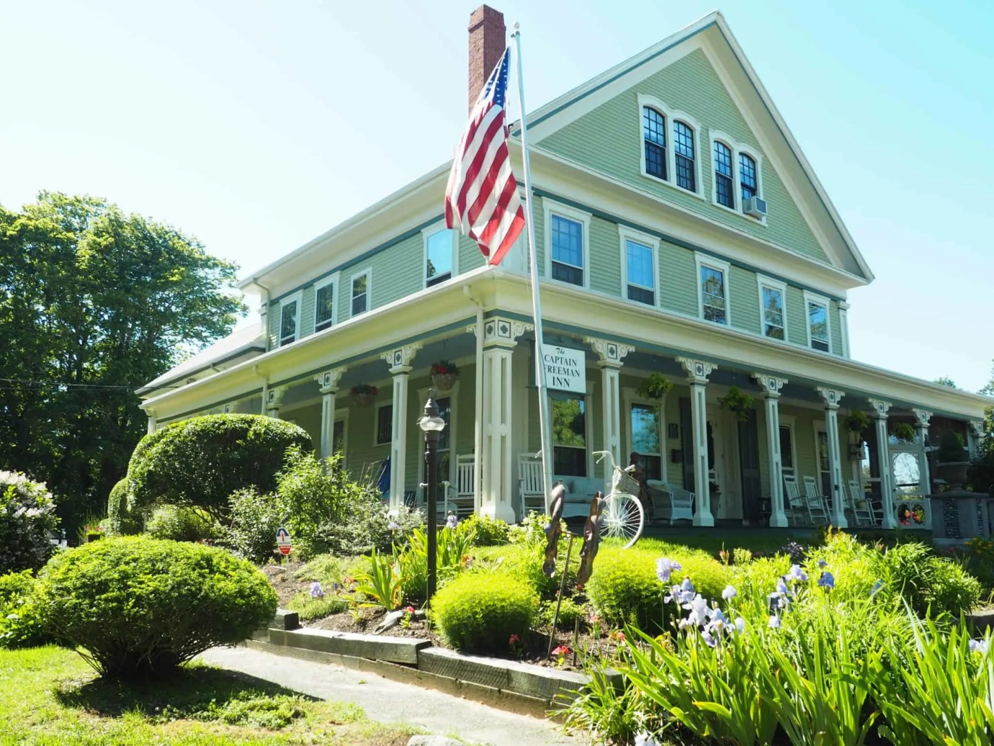 The Captain Freeman Inn on Cape Cod