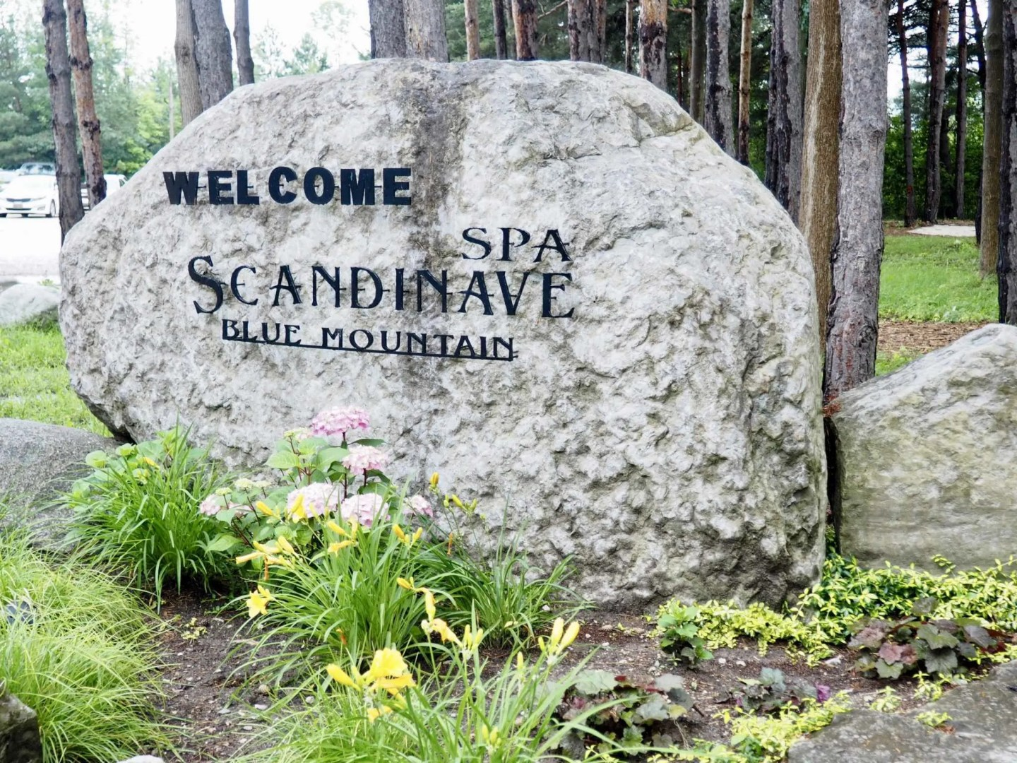couples getaway Scandinave spa
