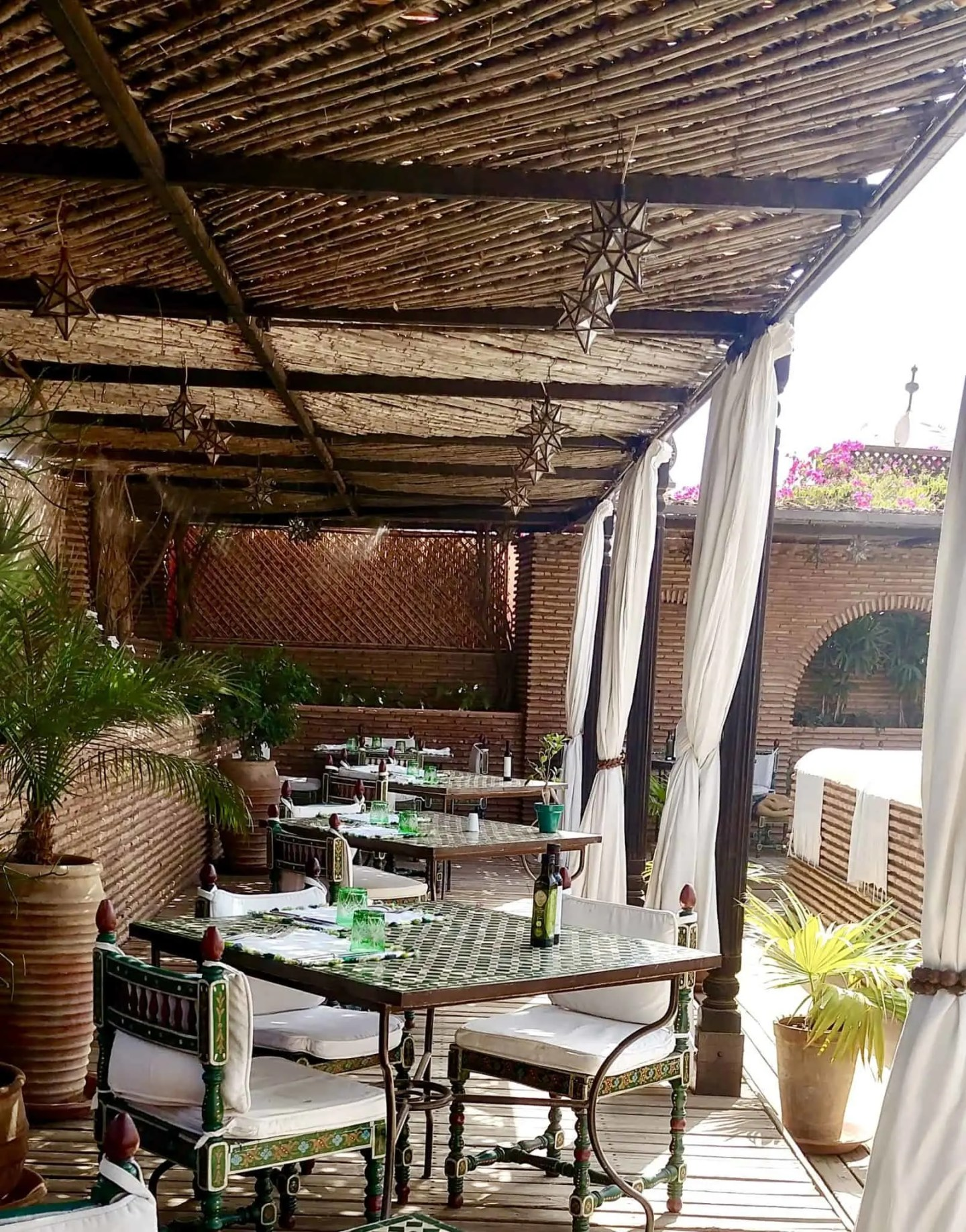 Our Tranquil Lunch at La Sultana Hotel Marrakech