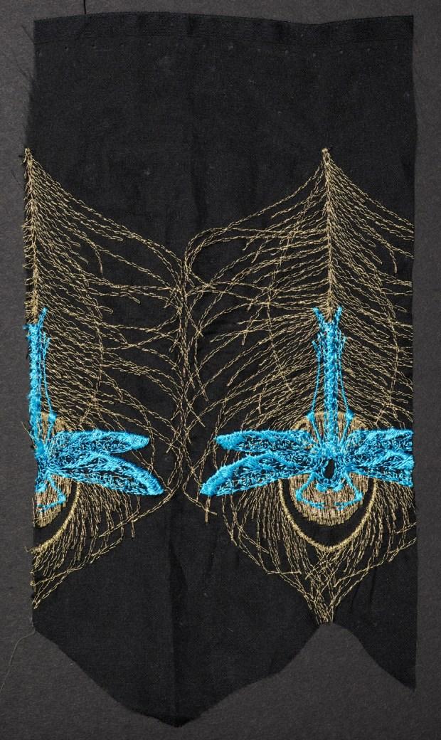 Robin Giddings. Machine sample Feathers