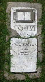Chester Hay, killed in the Lawrence Massacre.