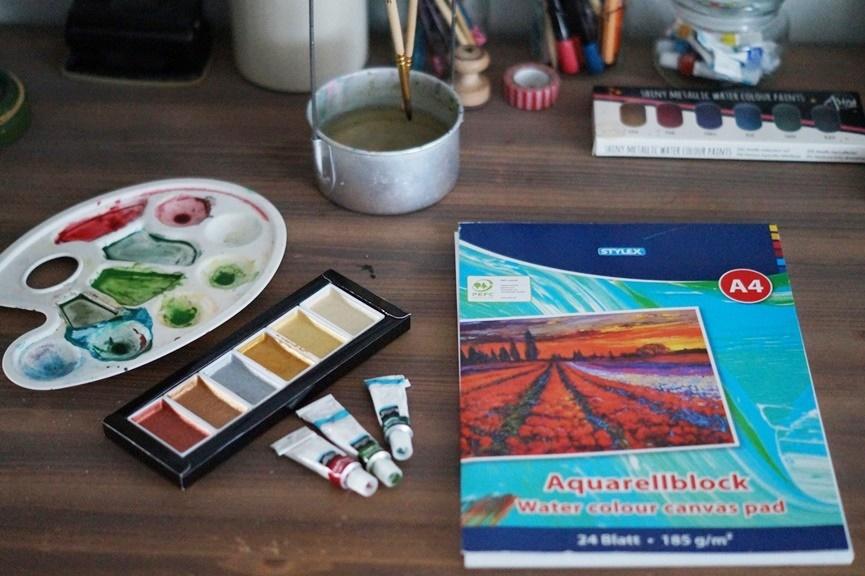 Malen mit Water Colours