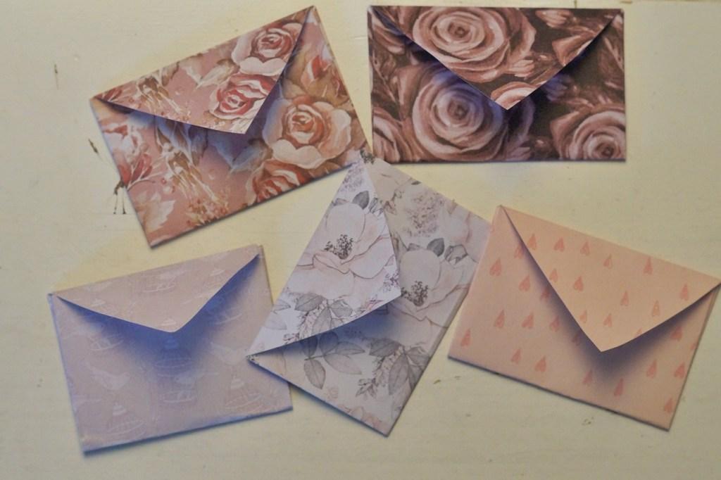 DIY Valentinstag kleine Briefe