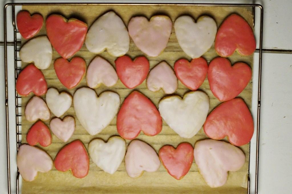 Ausstechkekse Butterkekse Herz