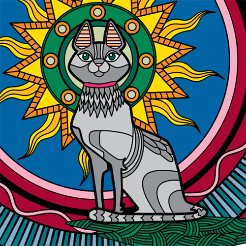 Colorfy Cat