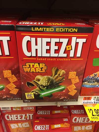 Star Wars Cheez Its