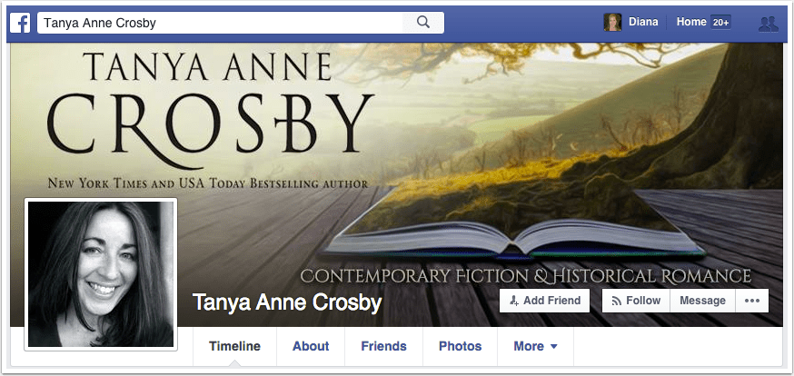 Tanya Anne Crosby Facebook Page
