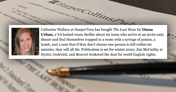 I Got a Book Deal! HarperTeen to Publish All Your Twisted Secrets in 2020