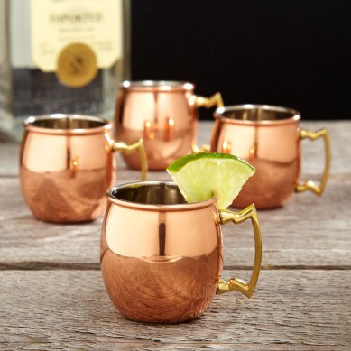 7. Copper Moscow Mule Mugs 1