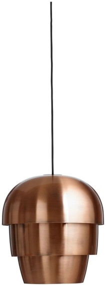 BoConcept pine-cone pendant light in copper-finished metal, €375, boconcept.com