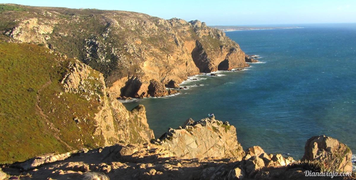 Cabo da Roca em Portugal