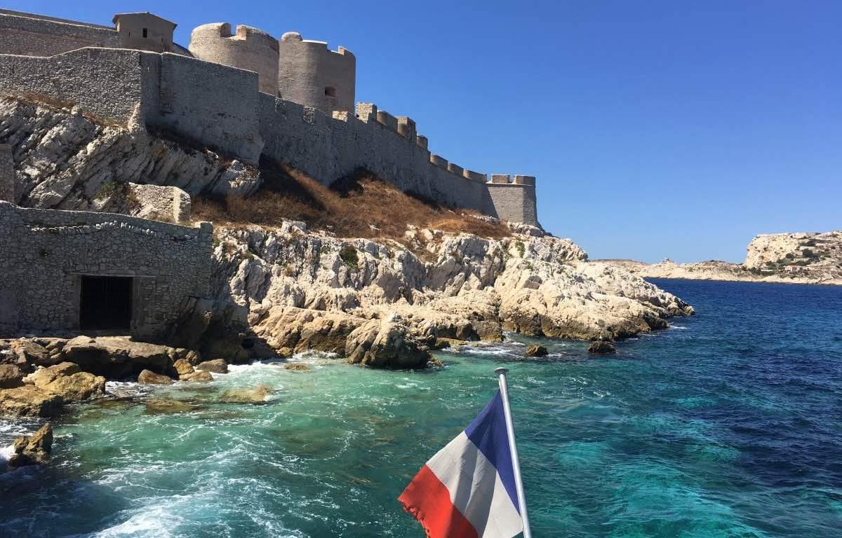 Chateau DÍf em Marseille Marselha Visita