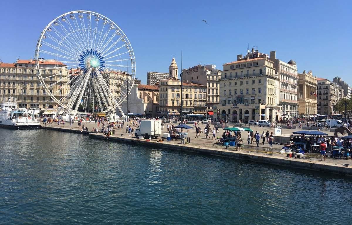 Porto de Marselha França