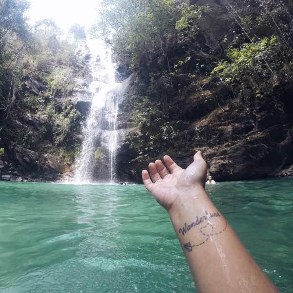 Diana Viaja Cachoeira Santa Bárbara