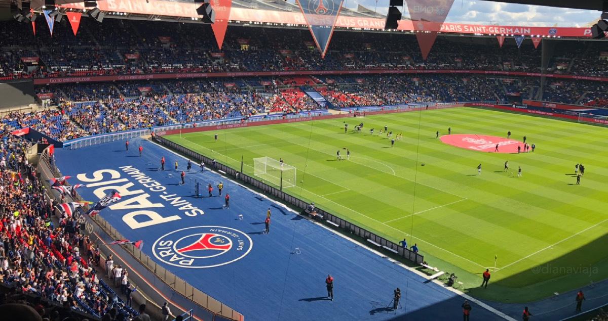 Paris Saint Germain Estadio Mgp Animation