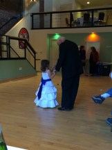 Papa dancing with Bella.