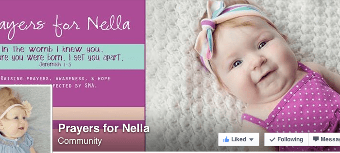 Prayers (and First Birthdays) for Nella