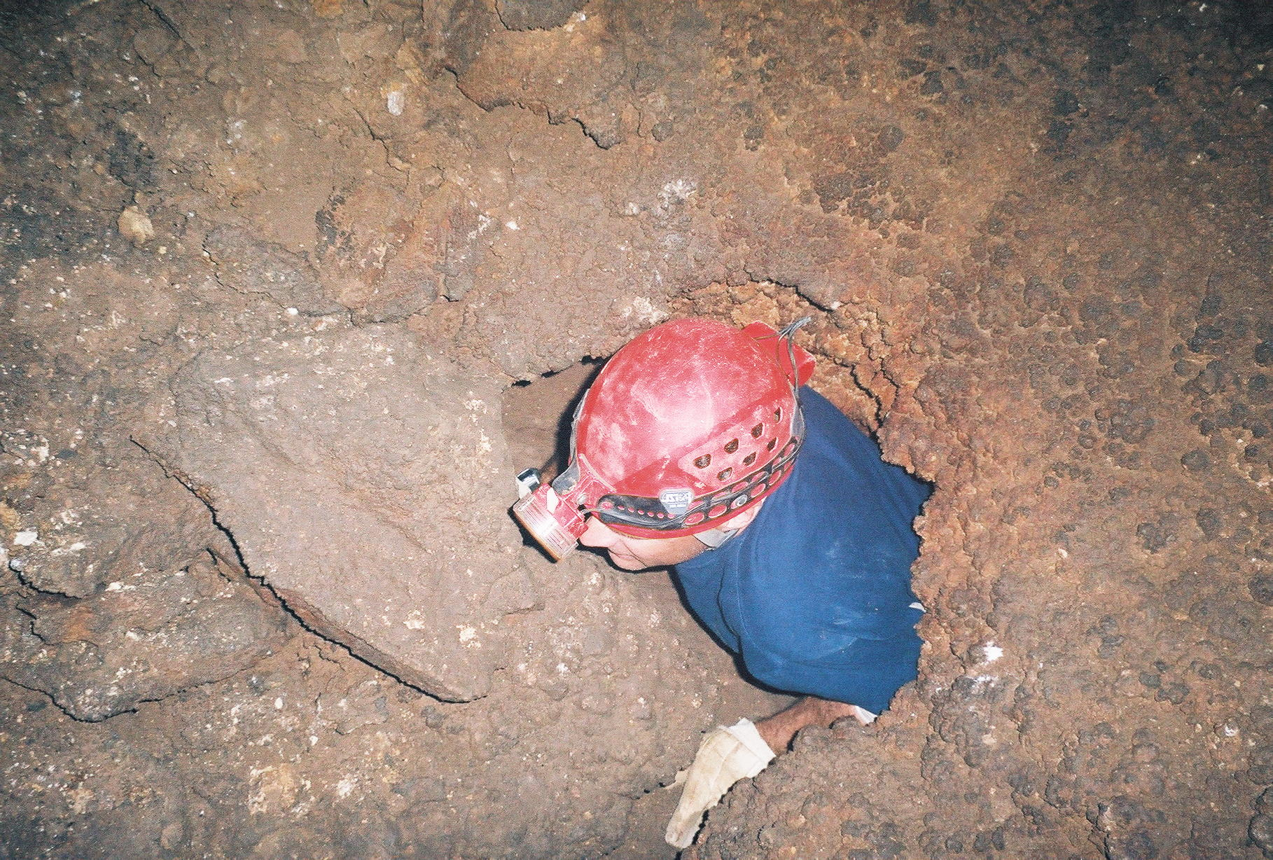 Andy Caving in Sonora
