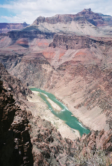 First Clear View of the Colorado River