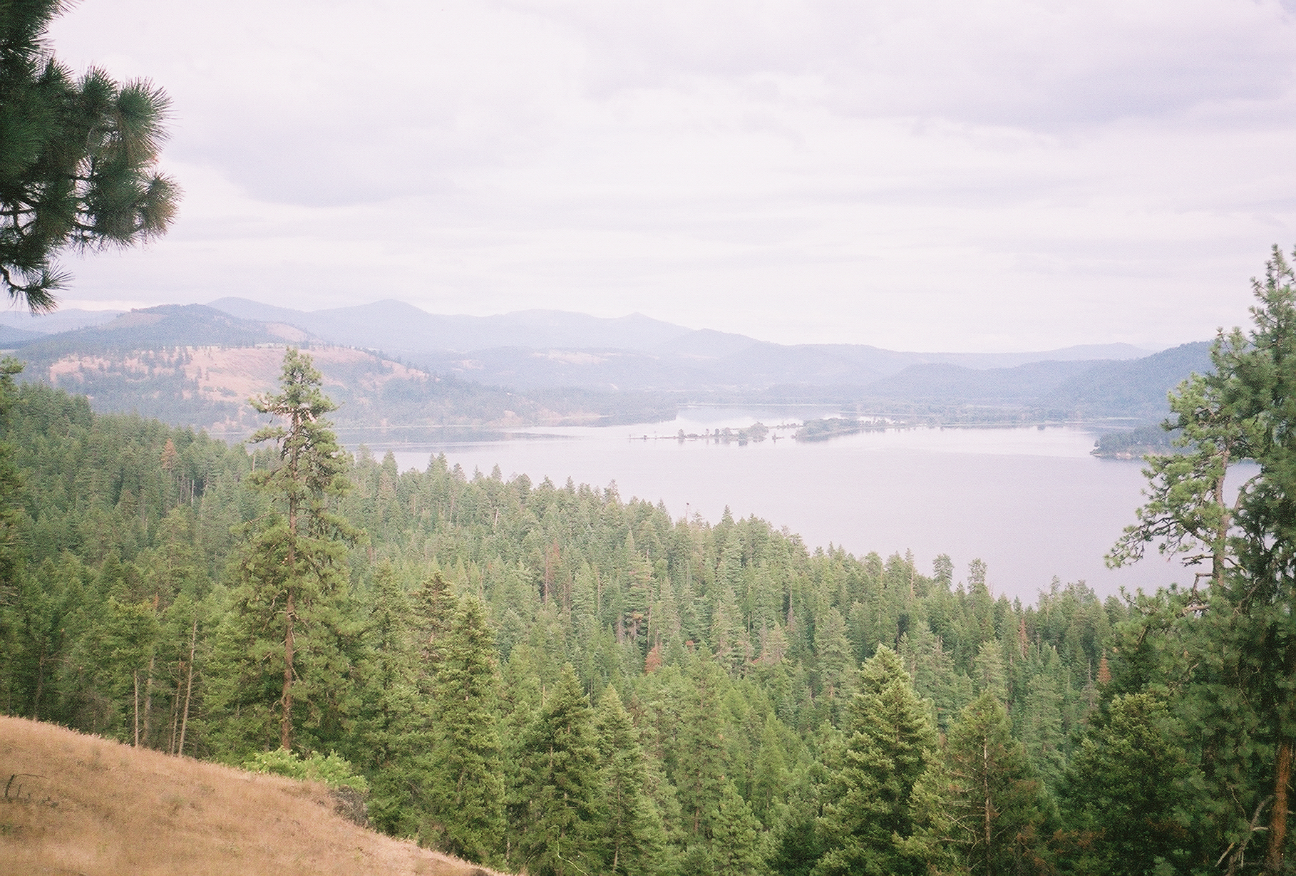 Overlooking Couer D'Alene Lake