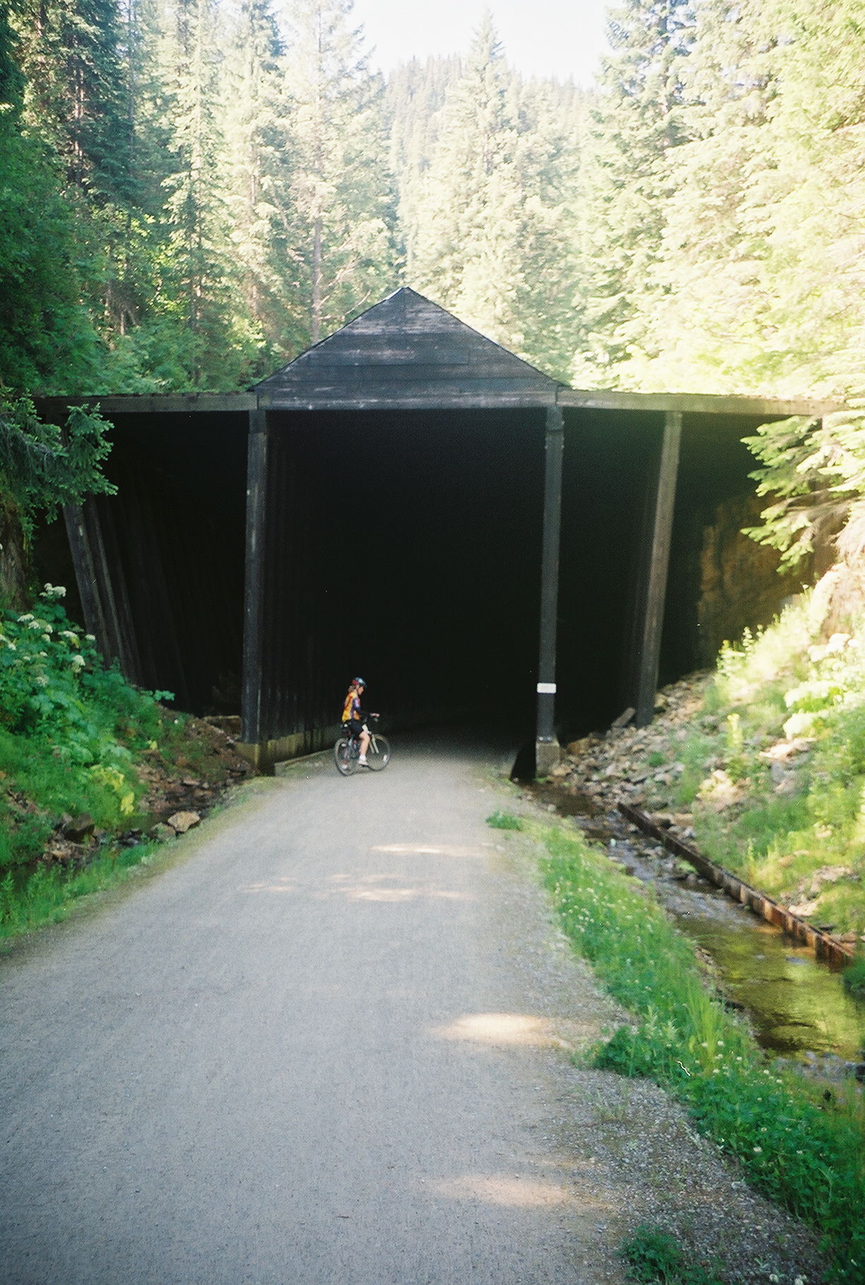 Diane at a Tunnel Entrance