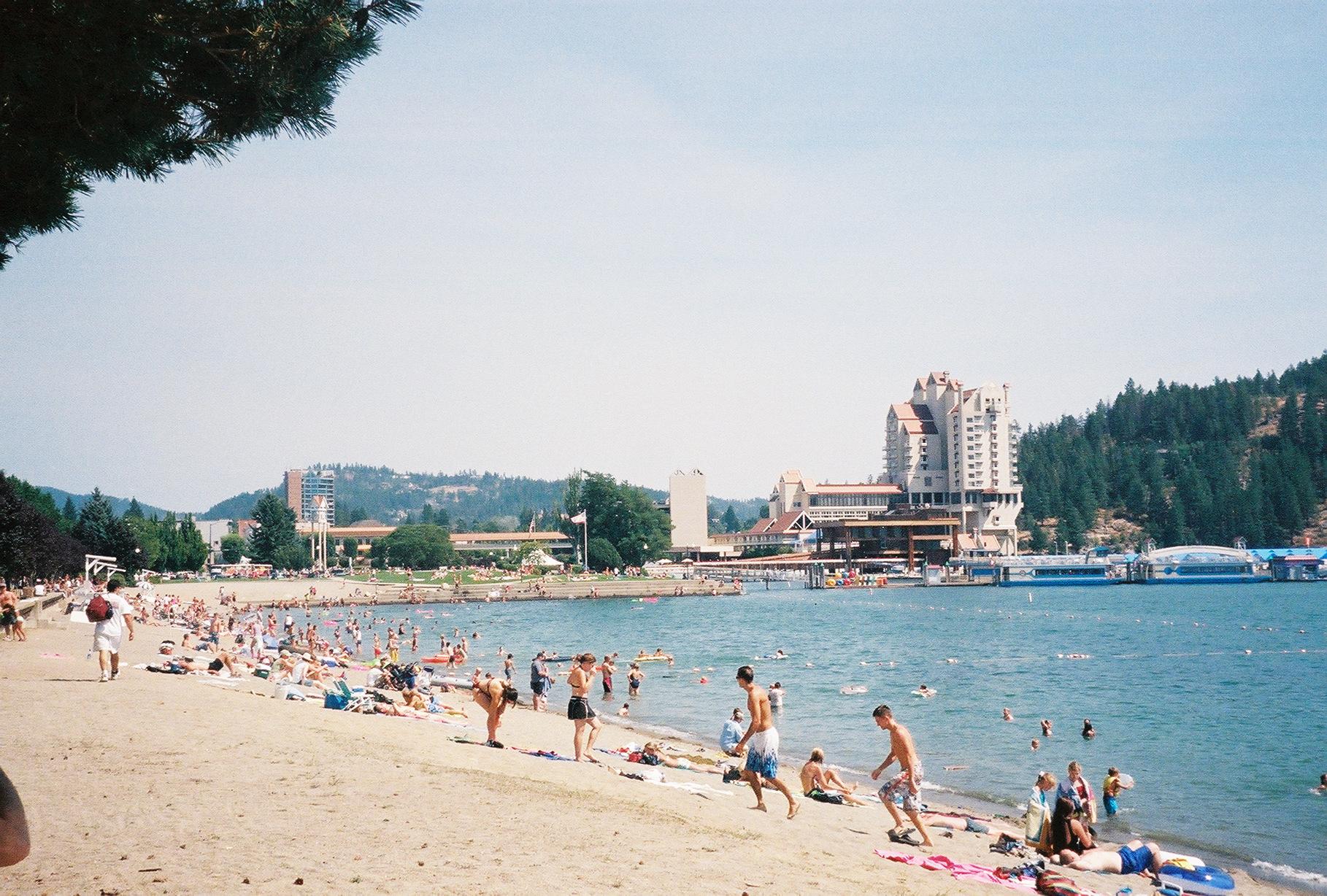 Beaches of Coeur d'Alene
