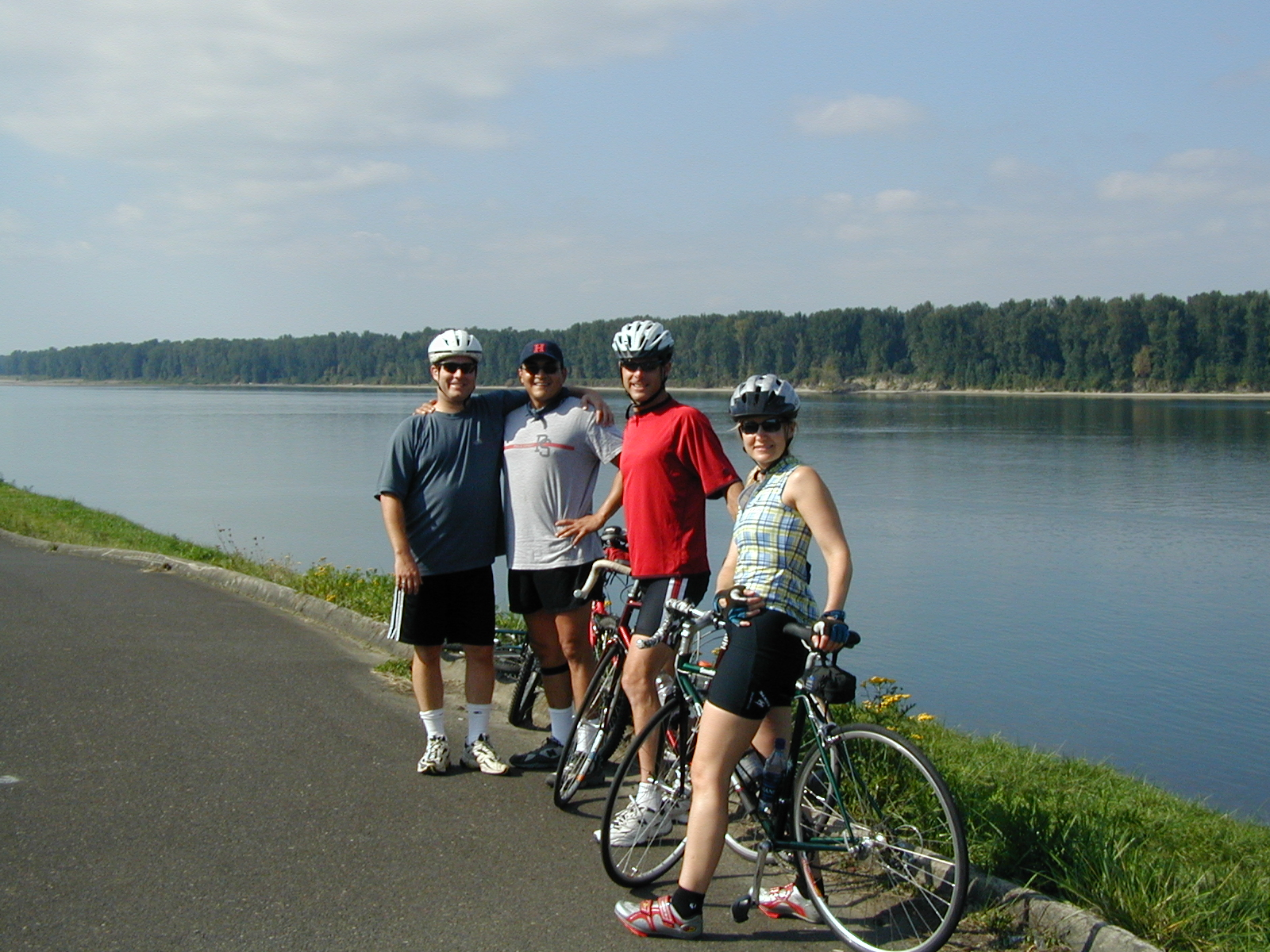 Biking Marine Drive