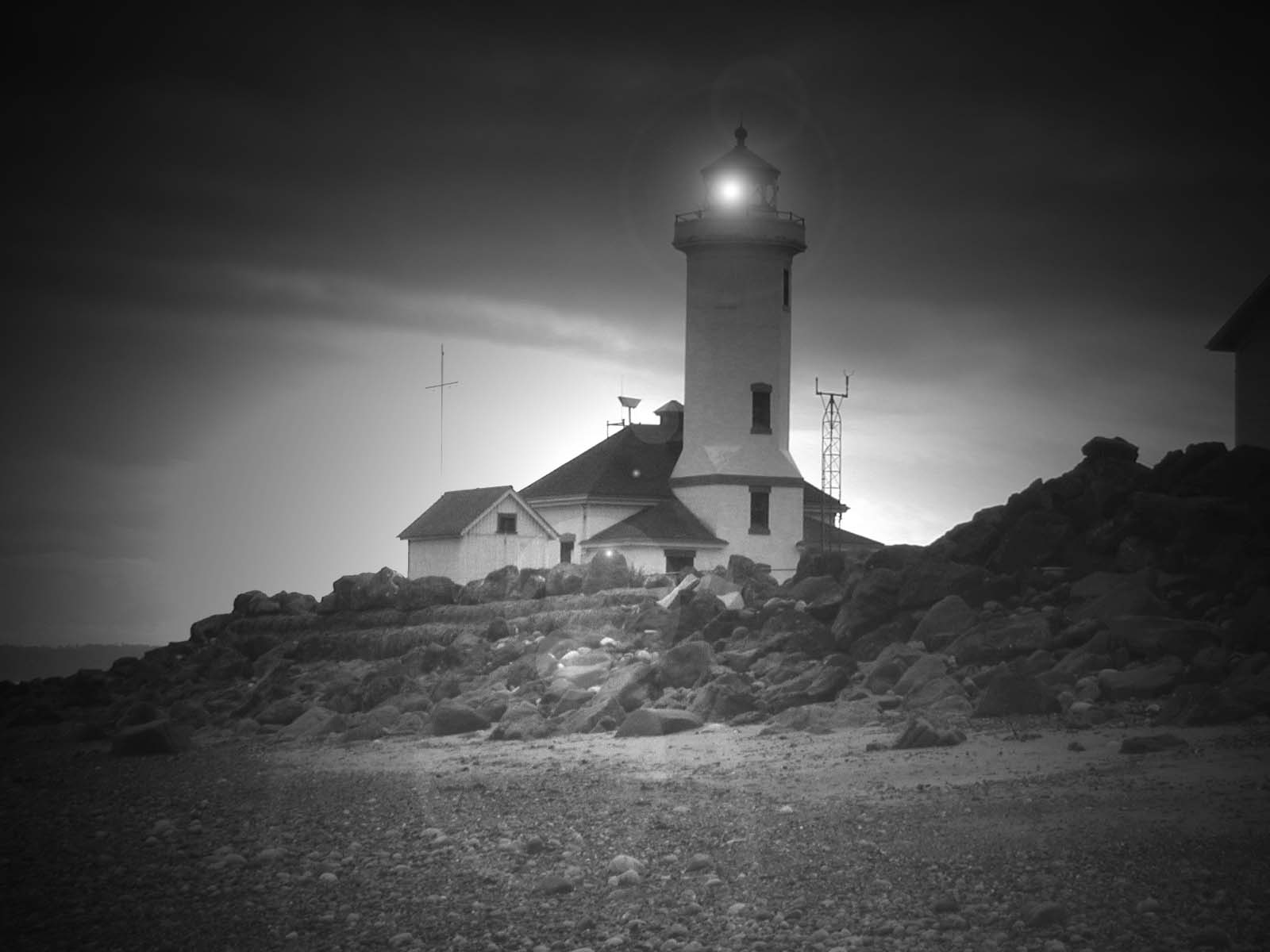 Lighthouse at Fort Worden