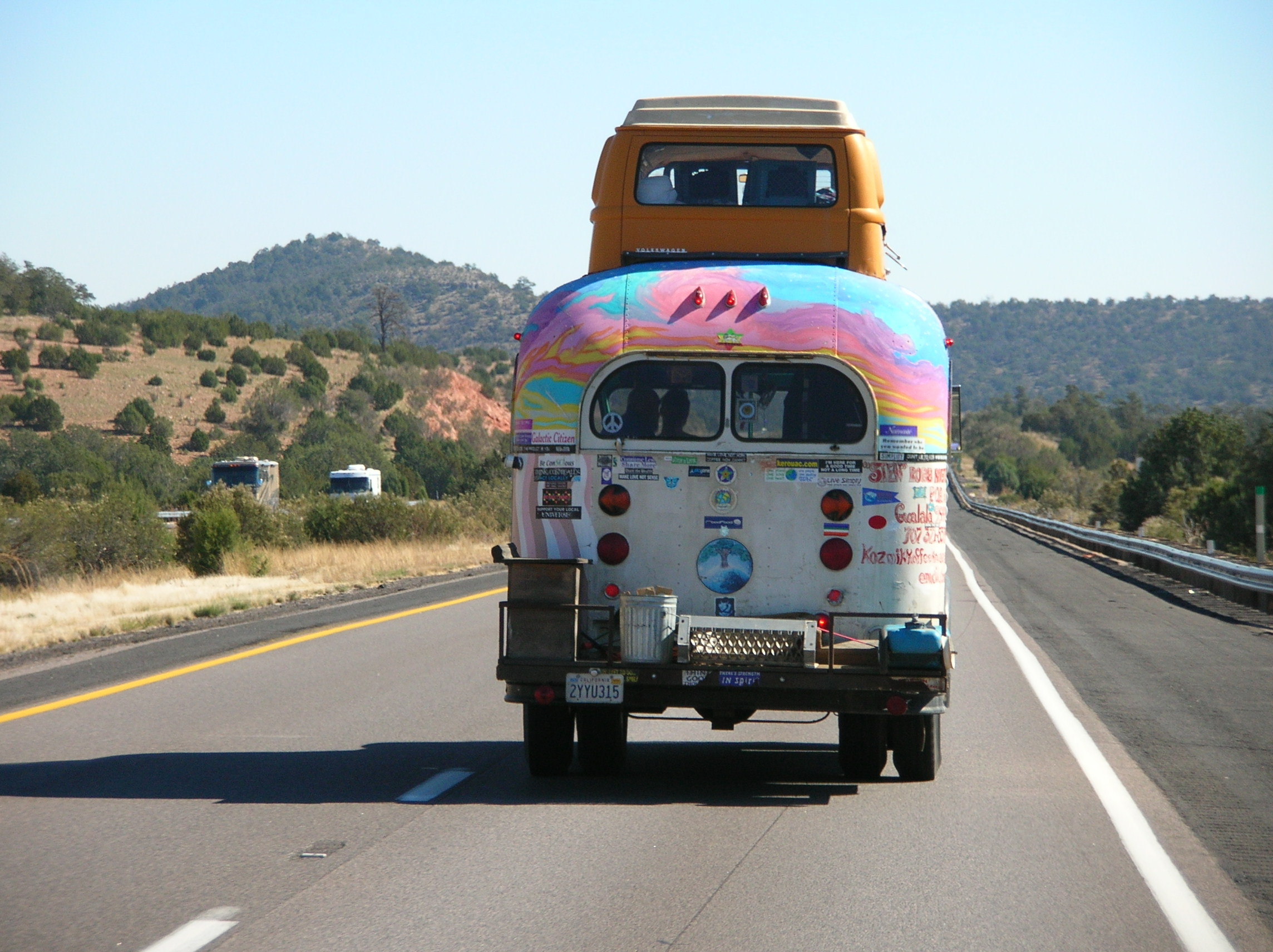 Hippie Mobile