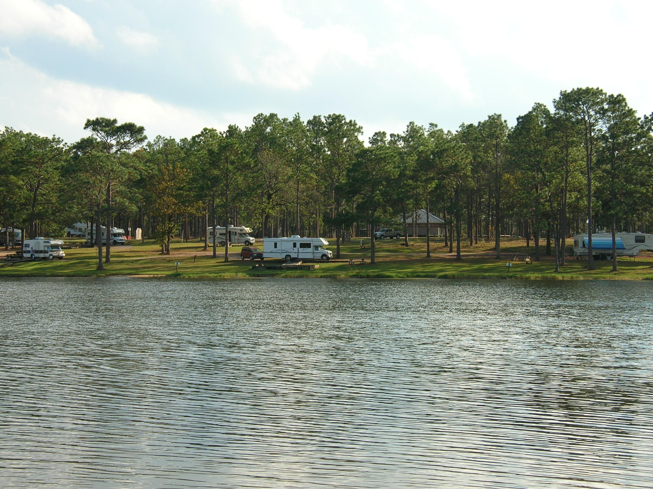 Our Campsite from the Lake