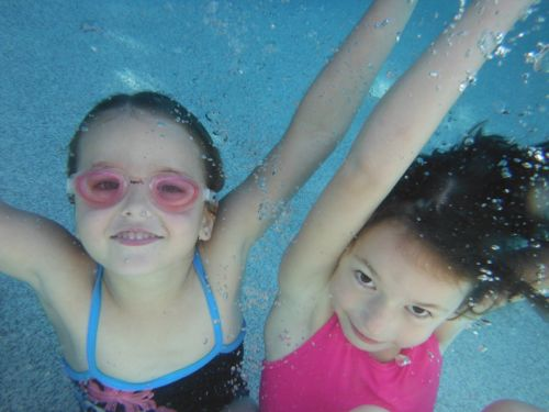 Underwater pics of the girls in Brisbane.