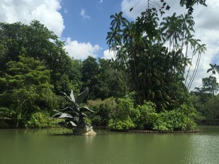 Botanic Gardens lake