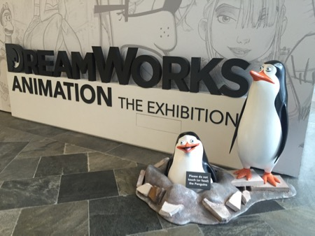 Dreamworks exhibition at the ArtScience museum.