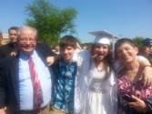 Sam graduates from Boylan in 2014