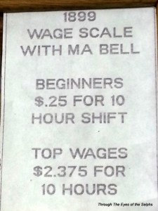 This is the pay-scale from 1899 at the phone company